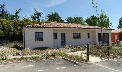 Maison neuve RT2012 sur terrain 550 m2  – 200705