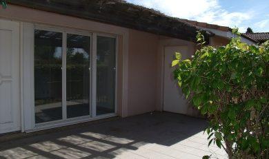 Maison Mitoyenne, Plain-pied, T3, Eaunes. 200901