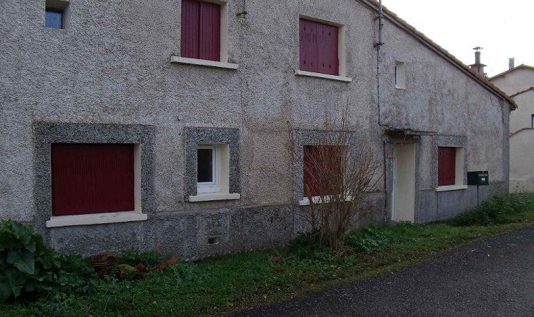 Beaumont sur Lèze, Maison de Village T3 sans garage ni jardin