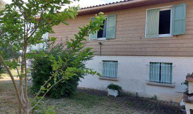 Eaunes, Charmante Maison T4 avec Sous- Sol sur Terrain divisible clos d'environ 1238 m².