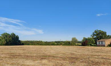 Beaumont sur Léze, Terrain Plat, Constructible d'environ 1500 m².