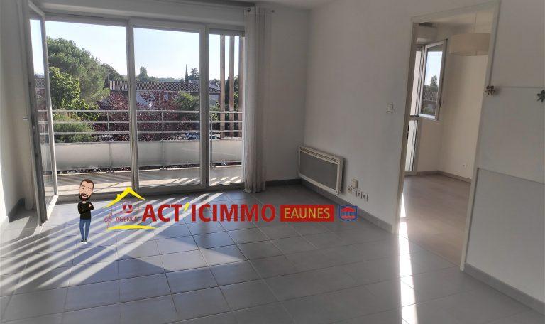 Toulouse Lardenne Tournefeuille Appartement T2 de 39.3 m² avec Terrasse et place parking privative